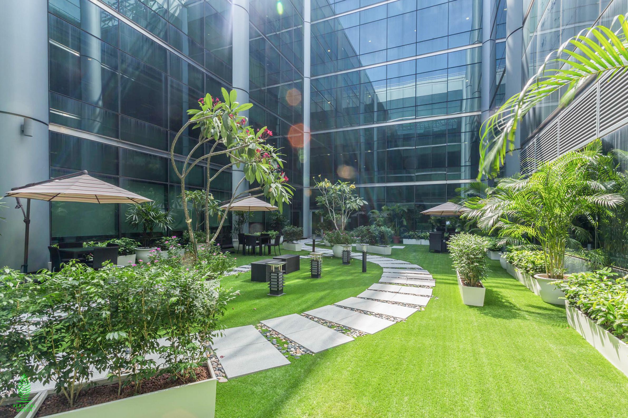 visa garden landscape
