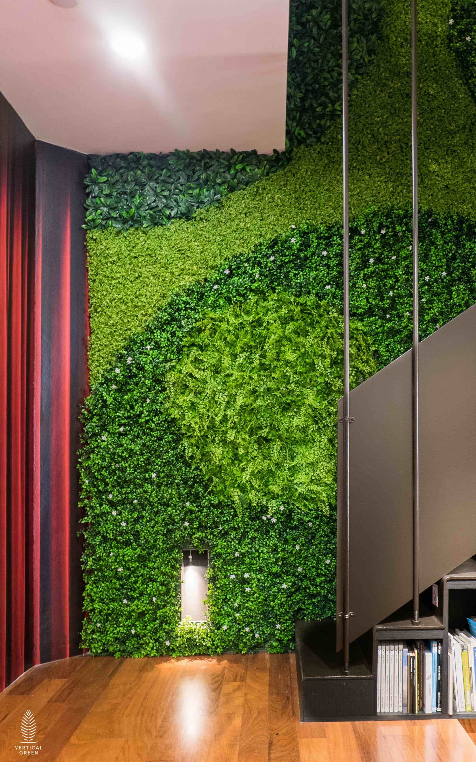 OngOng-@-SFL-Building-Artificial Green Wall8